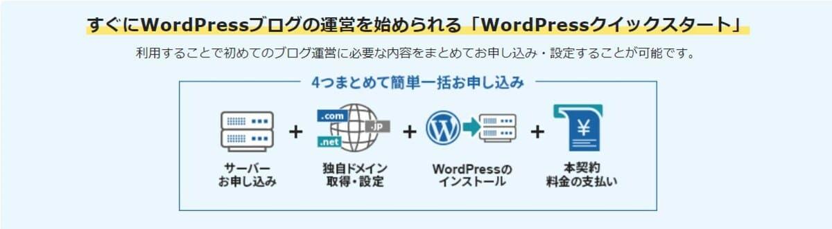 エックスサーバーの『Wordpressクイックスタート』とは?